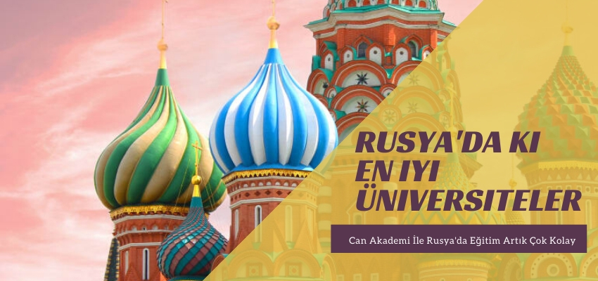 Rusya'da ki en iyi üniversiteler